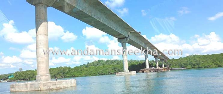 Work of Middle Strait Creek bridge to complete in next one years; 94 percent work of Humphrey Strait Creek Bridge is over