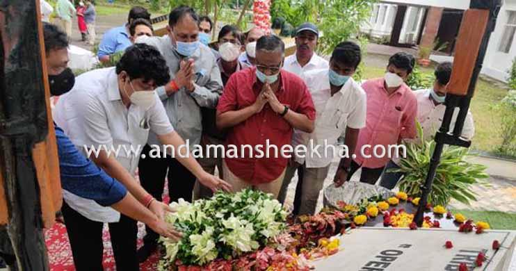 Vishal Jolly pays tributes to Kargil martyrs on Vijay Diwas