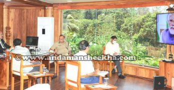 Senior Officers attends PM's Video Conference